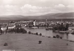 RP: GROSSAUHEIM a.m., Hesse, Germany, 1950's; General View
