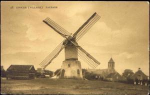 belgium, KNOKKE KNOCKE, Paysage, Windmill (1908)