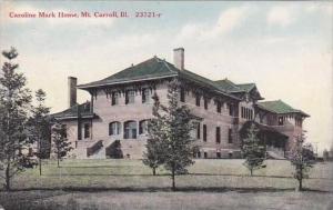 Illinois Mount Carroll Caroline Mark Home