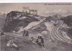Switzerland Rigi-Kulm und die Alpen