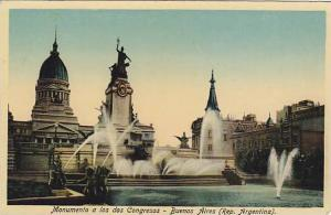Monumento A Los Dos Congresos, Buenos Aires, Argentina, 1910-1920s