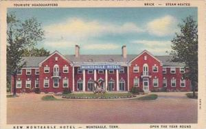 Tennessee Monteagle New Monteagle Hotel Open the Year Round 1937
