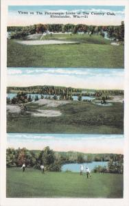 Wisconsin Rhinelander Views Of The Country Club