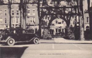 Memorial Arch, Gouverneur, New York, 1900-1910s