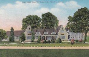 HIGH POINT , North Carolina ,1930-40s ; Emerywood Club