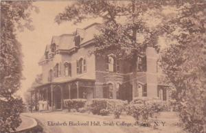 New York Geneva Elizabeth Blackwell Hall Smith College 1911