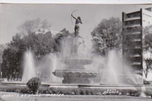 Mexico Chapultepec Fuente Monumental Diana la Cazadora Real Photo