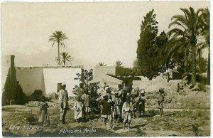 CARTOLINA d'Epoca - LYBIA LIBIA - ABITAZIONI ARABE