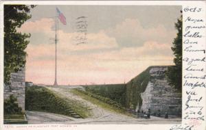 FORT MONROE, Virginia; Ascent to Flagstaff, PU-1907