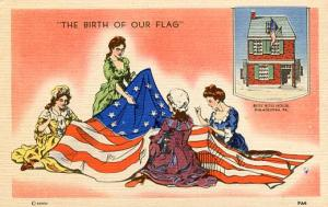 The Birth of our Flag