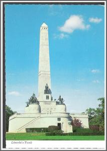 Illinois Springfield Lincoln's Tomb - [IL-041X]