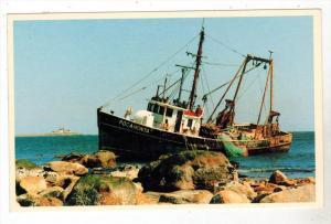 1306  Pocahonta Fishing Boat Aground