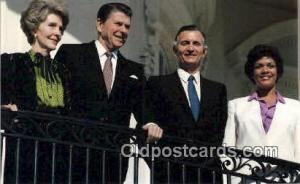 Jamica's Prime Minister Ronald Regan 40th USA President Postcard Postcards  J...