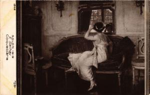 CPA Salon 1912 E. GELHAY Coquetterie (702186)