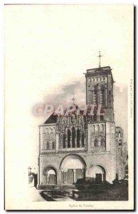 Postcard Ancient Church of Vezelay