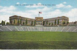 Texas El Paso High School and Stadium
