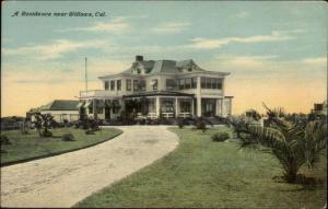 Willows CA Home c1910 Postcard - Sacramento Valley Irrigation Project