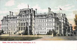State, War, and Navy Dept. Building, Washington, D.C., Early Postcard, Unused