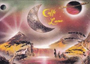 California Los Angeles Cafe Luna Melrose Avenue
