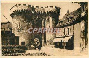 Postcard Old Chartres (Eure et Loir) La Porte Guillaume Buvette