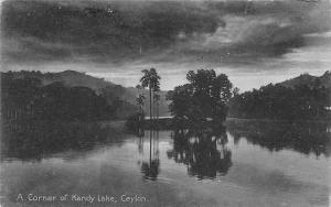Sri Lanka Ceylon A Corner of Kandy Lake