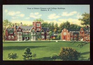 Geneva, New York/NY Postcard, Hobart Campus & College Buildings