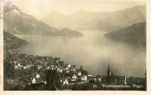 Switzerland - Vierwaldstattersee, Weggis  *RPPC