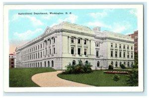 Agricultural Department, Washington D.C. W.B. Garrison Inc. Vintage Postcard