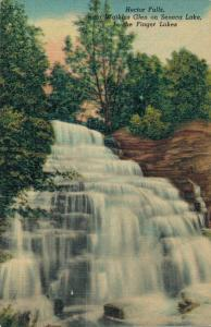 USA Hector Falls near Watkins Glen on Seneca Lake 02.63