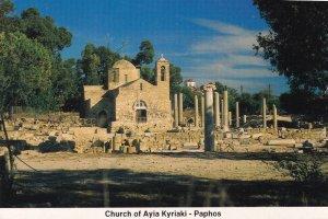 Church of Panayia Angeloktisti Kiti Village Cyprus Postcard