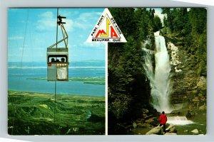 Quebec Canada, Parc Mont Ste-Anne, Chrome Postcard