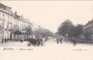 BRUXELLES , Belgium , 00-10s ; Avenue Louise