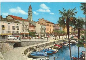 Switzerland, Ticino Pittoresco, Ascona Lago Maggiore, 1977 used Postcard