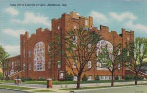 Park Place Church Of God Anderson Indiana 1956 Curteich