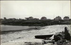 Biddeford ME Hills Beach Homes c1950 Real Photo Postcard
