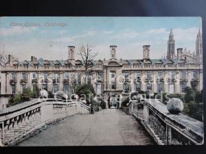 Old PC - Cambridge: Clare College