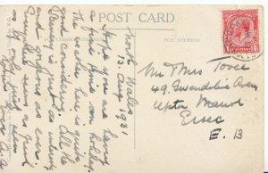 Family History Postcard - Tovee - Upton Park - London - Ref 1292A