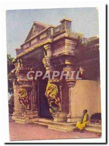 India Travancore Temple Gateway at Cape Comorin