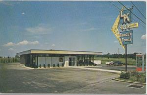 Marion OH - L K RESTAURANT on U.S. Route 23, 1960s