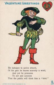 TUCK A, VALENTINE Greetings, Actor in costume, 00-10s