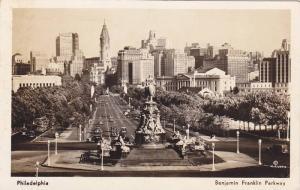 RP;  Benjamin Franklin Parkway, Philadelphia, Pennsylvania, PU-1942
