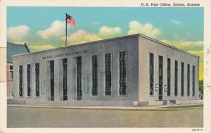 U. S. Post Office, SALINA, Kansas, 1930-1940s
