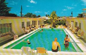 Golden Villa Motel Pool Clearwater Beach Florida