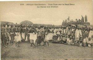CPA AK Sénégal Afrique 255. Dakar - Fortier - Tam-Tam sur le Haut-Bany (70186)