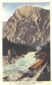 Mt Field & Kicking Horse River Yoho National Park Canada Unused
