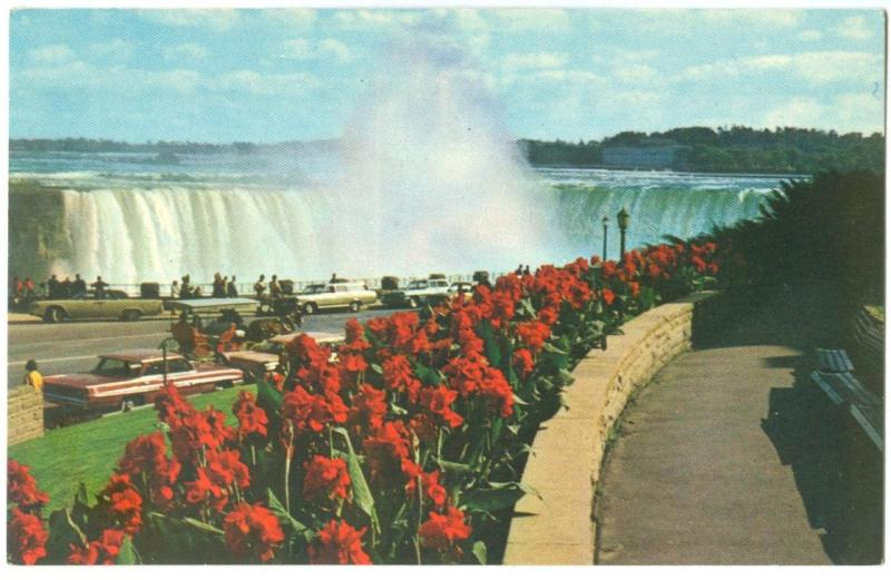 Horseshoe Falls from Queen Victoria Park, Niagara Falls, Canada, unused Postcard