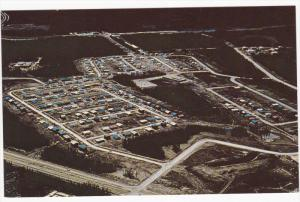 Aerial View of THOMPSON , Manitoba , Canada , 50-60s