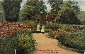 CHICAGO, Illinois, 1910; Jackson Park, Wooded Island