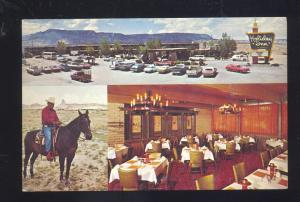 KAYENTA ARIZONA HOLIDAY INN MOTEL 1960's CARS OLD ADVERTISING POSTCARD