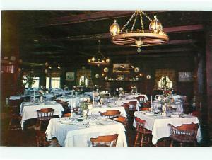 Patterson NY L Auberge Bretonne Restaurant Annic Corentin Conan Postcard # 5396